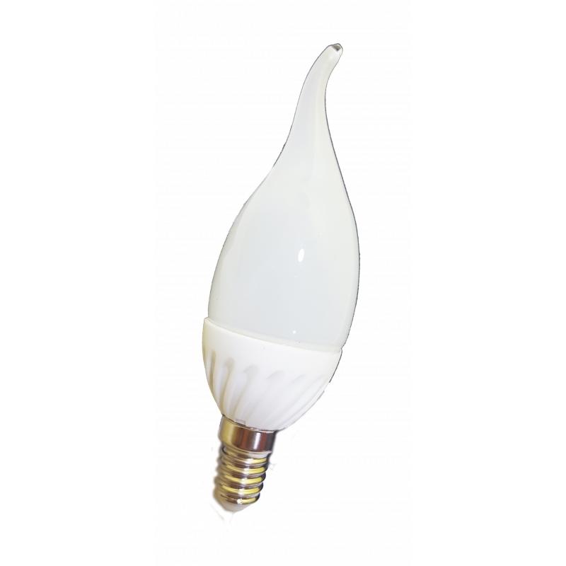Lampadina a led luce bianca fredda da 3 watt 30 watt for Lampadina lunga led