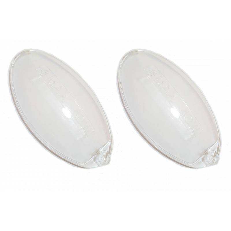 Vetrini ovali in plastica resistente per cappa cucina - Ricambi cucine ariston ...