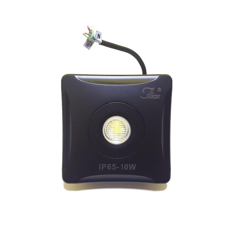 Faro faretto tecnologia led 6500k luce fredda bianca 10 watt for Led luce bianca