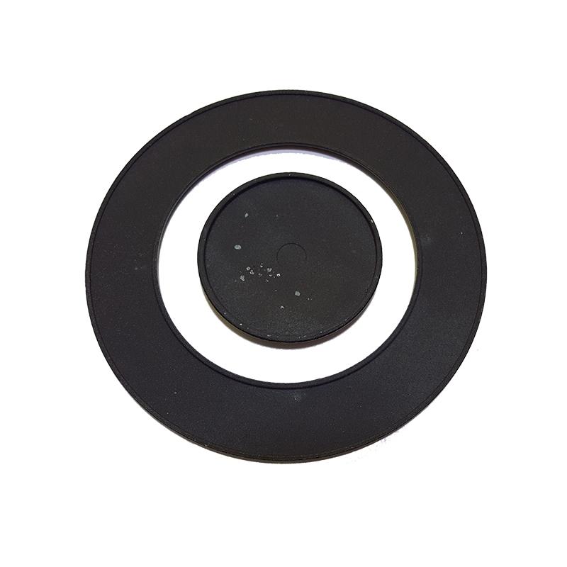 Piattelli corona centrale in ghisa smaltata per ariston for Cucine piano cottura centrale