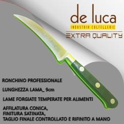 """RONCHINO PROFESSIONALE """"DE LUCA"""" FORGIATO MANICO POM RESISTENTE IN LAVASTOVIGLIE"""